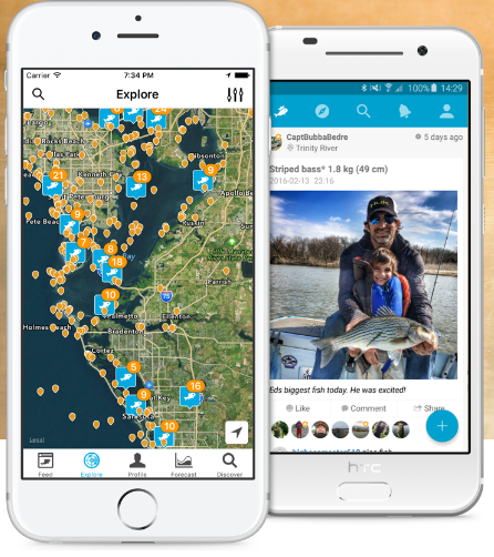 Best fishing apps useful tools for every fisherman reel for Fish brain app